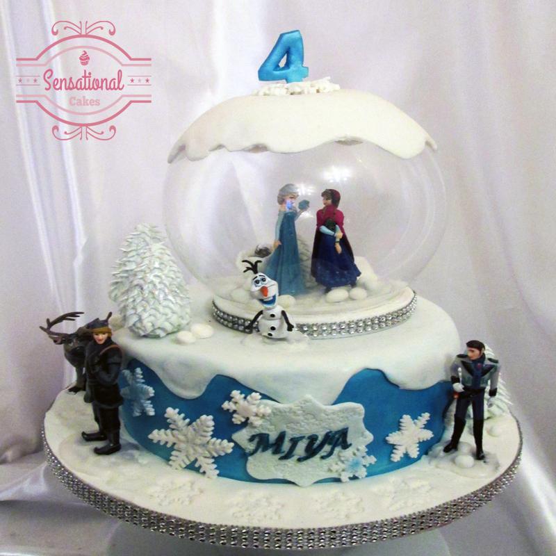 Pleasant Walt Disney Frozen Birthday Cake Sensational Cakes Funny Birthday Cards Online Elaedamsfinfo
