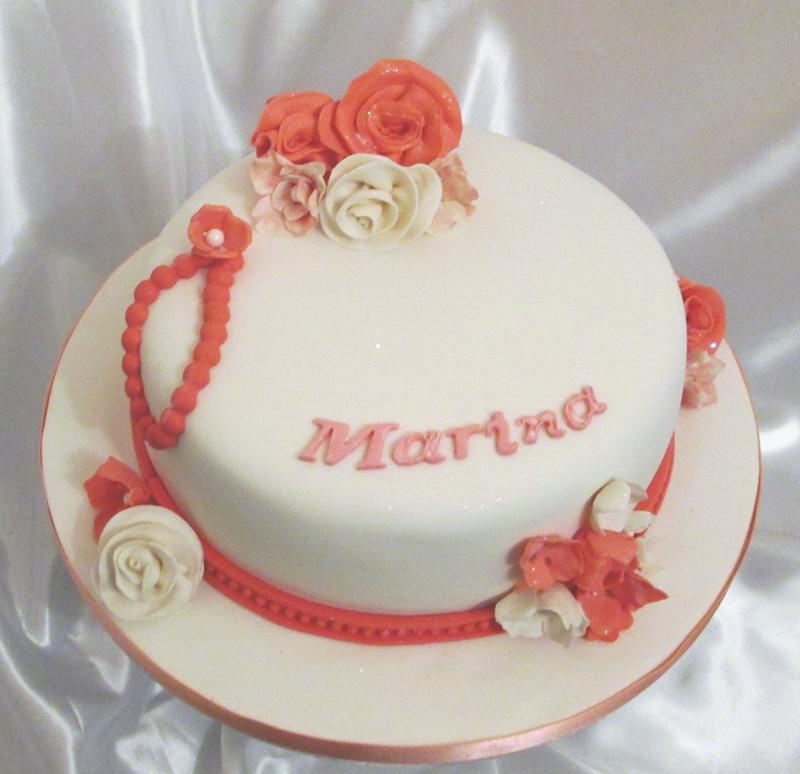 Awe Inspiring Elegant Birthday Cake Sensational Cakes Personalised Birthday Cards Veneteletsinfo