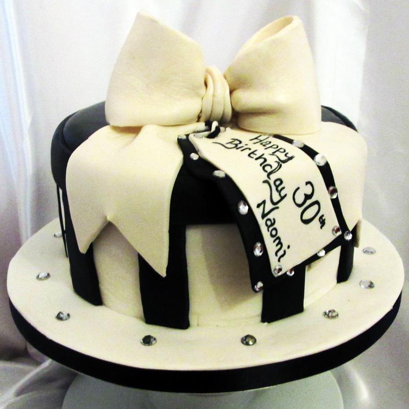 Fine 30Th Birthday Present Cake Sensational Cakes Funny Birthday Cards Online Chimdamsfinfo