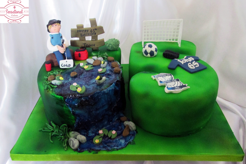 Surprising 65Th Birthday Cake Sensational Cakes Funny Birthday Cards Online Drosicarndamsfinfo