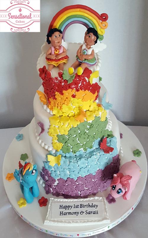 Stupendous My Little Pony Birthday Cake Sensational Cakes Personalised Birthday Cards Arneslily Jamesorg