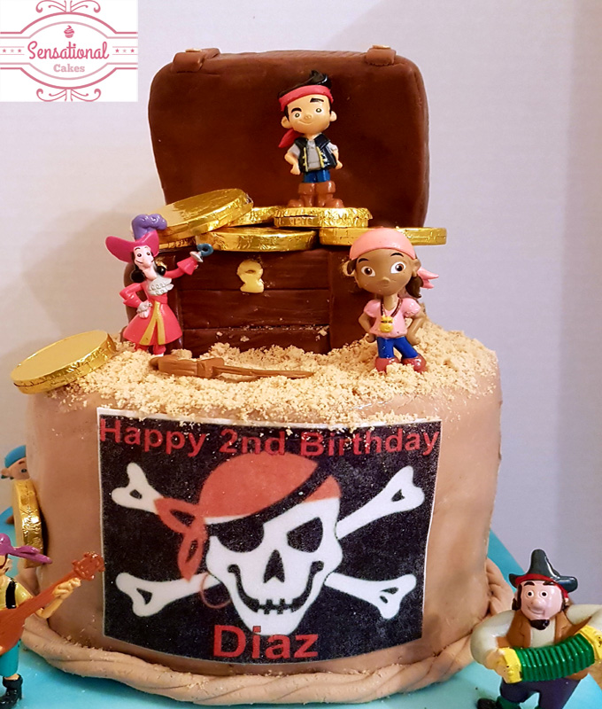 Sensational James And The Neverland Pirates Birthday Cake Sensational Cakes Funny Birthday Cards Online Alyptdamsfinfo