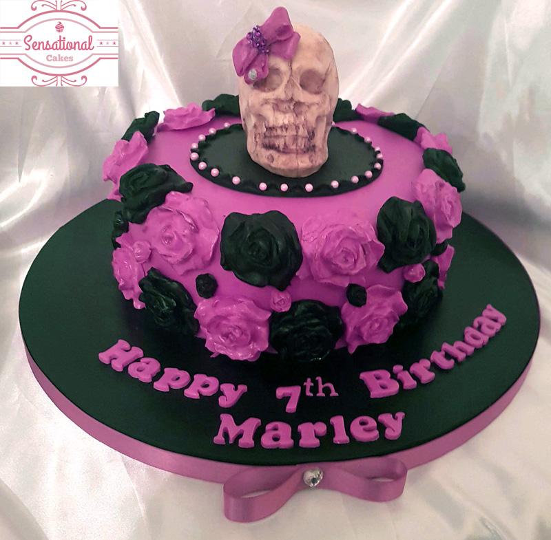 Surprising Skull Cake Sensational Cakes Funny Birthday Cards Online Barepcheapnameinfo