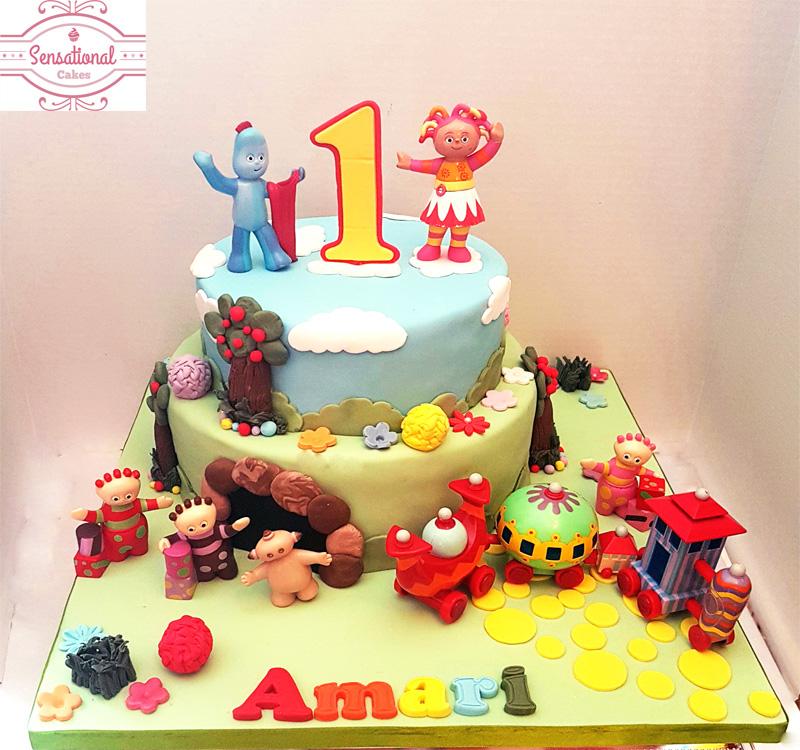 Amazing In The Night Garden 1St Birthday Cake Sensational Cakes Funny Birthday Cards Online Overcheapnameinfo