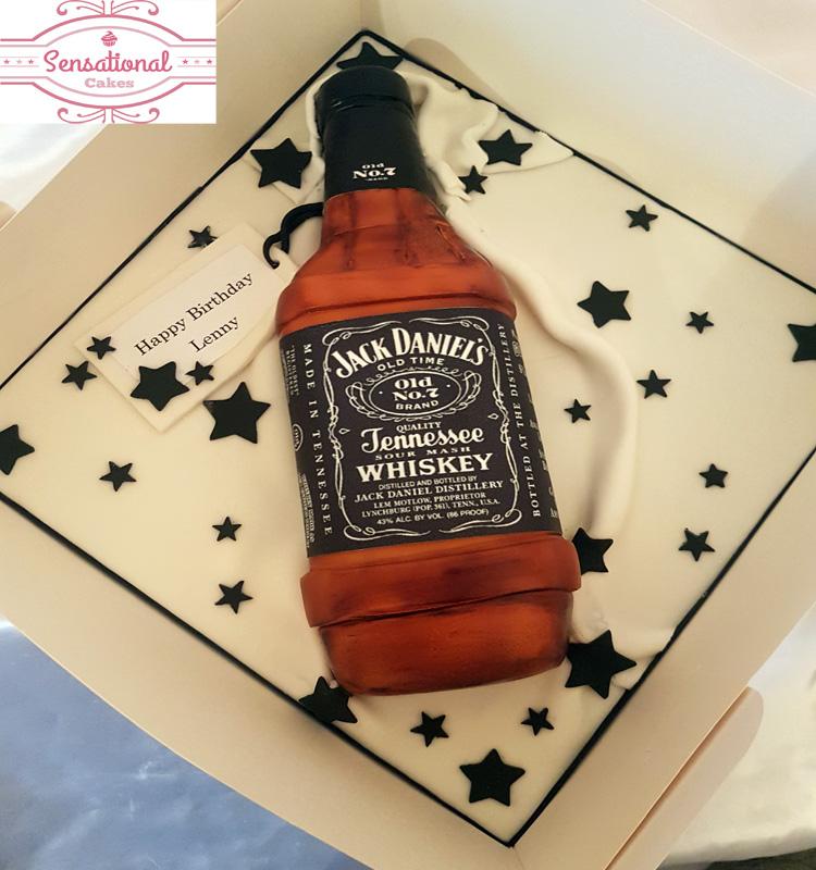 Phenomenal Jack Daniels Cake Sensational Cakes Personalised Birthday Cards Sponlily Jamesorg