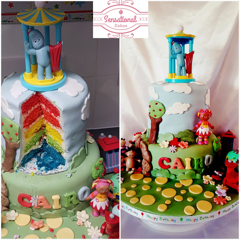Fantastic In The Night Garden Birthday Cake Sensational Cakes Funny Birthday Cards Online Overcheapnameinfo