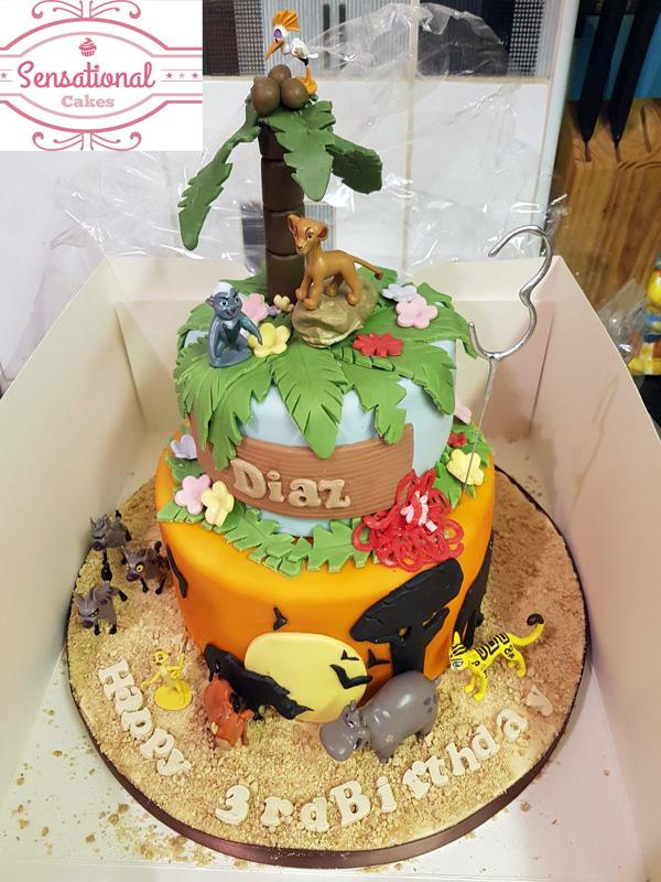 Super Lion King Birthday Cake Funny Birthday Cards Online Fluifree Goldxyz