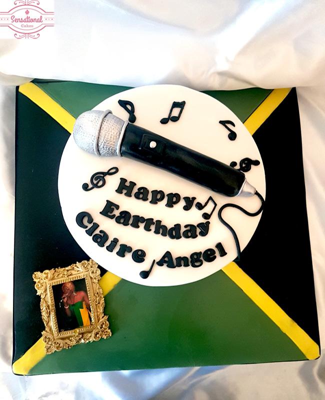 Superb Music Themed Birthday Cake Sensational Cakes Funny Birthday Cards Online Alyptdamsfinfo